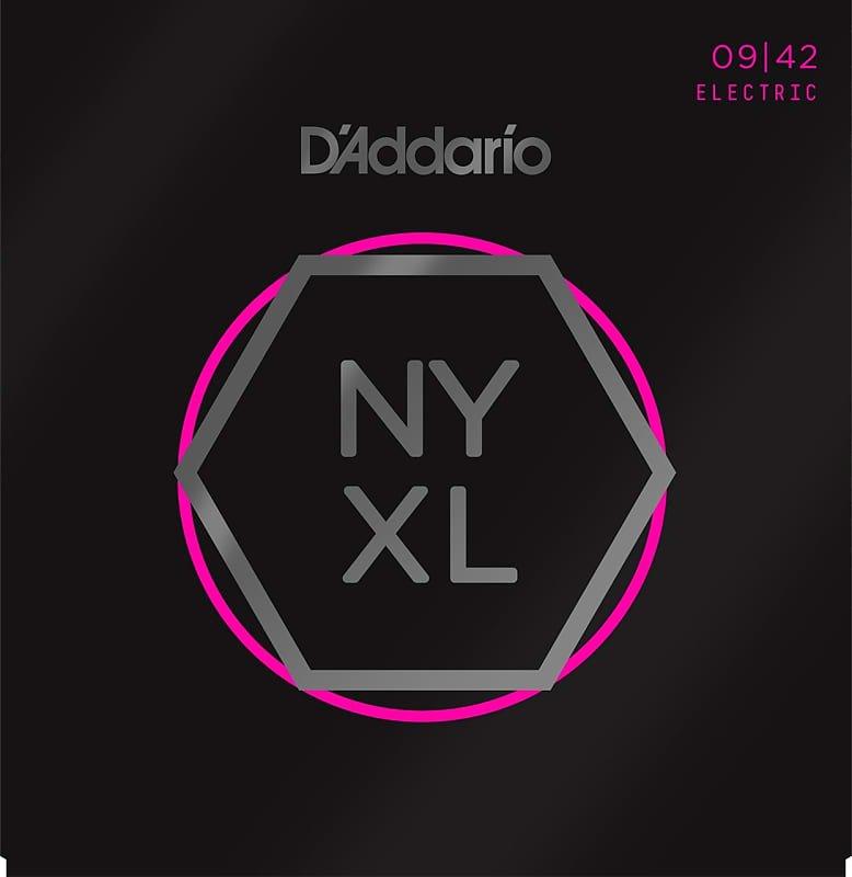 D'Addario NYXL0942 Nickel Wound Electric Guitar Strings, Super Light, 9-42