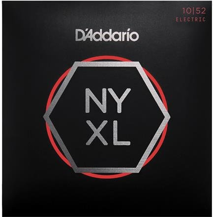 NYXL1052 Electric Guitar Strings, Light Top/Heavy Botto...D'Addario