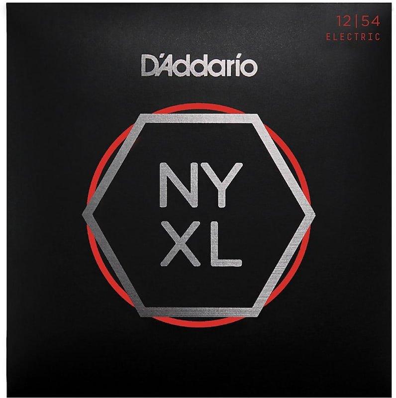 D'Addario NYXL1254 Nickel Wound Electric Guitar Strings, Heavy, 12-54