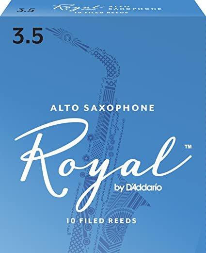Rico Royal Alto Sax #3.5 10/Box RRAS3H