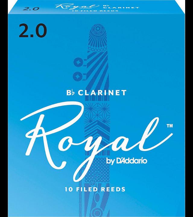 Rico Royal Clarinet Reeds #2 10/box RRCL2
