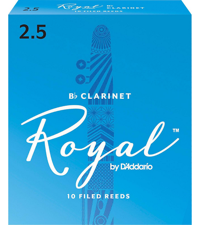 RIco Royal Clarinet Reeds #2.5 10/box RRCL2H