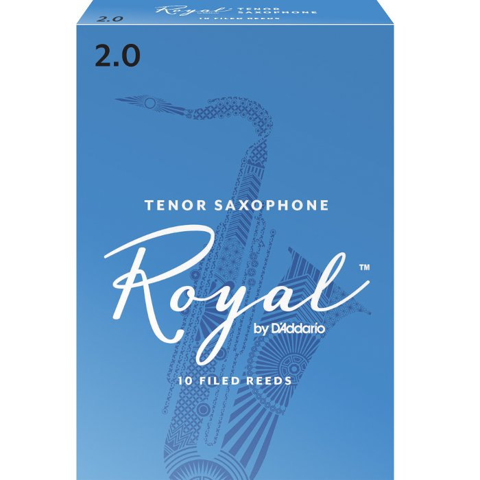 Rico Royal Tenor Sax Reeds #2 10/box RRTS2