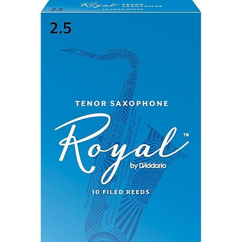 Rico Royal Tenor Sax Reed #2.5 10/bx RRTS2H