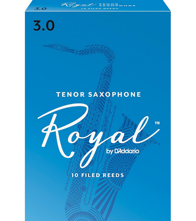 Rico Royal Tenor Sax #3 10/box RRTS3