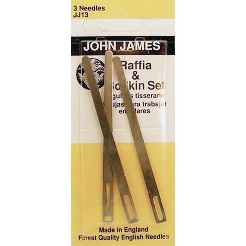John James Bodkin & Raffia Set-3/Pkg