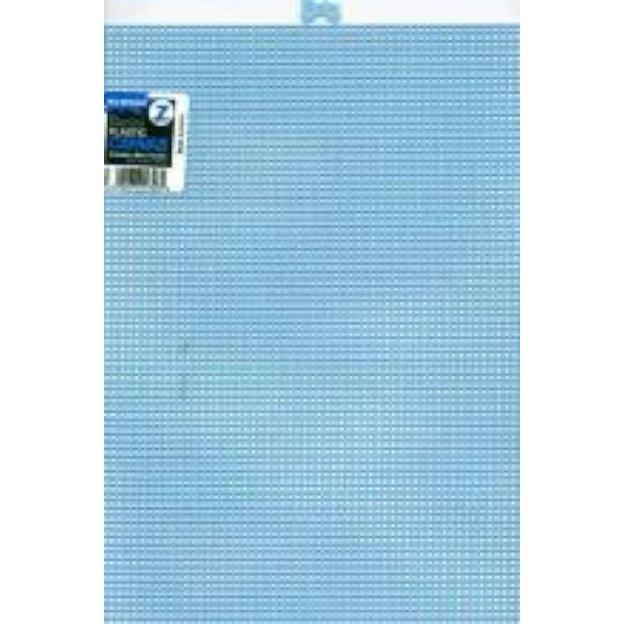 Darice Plastic Canvas 7 Count 10X13-Light Blue