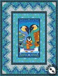 Arctic Wonderland Twin size quilt kit
