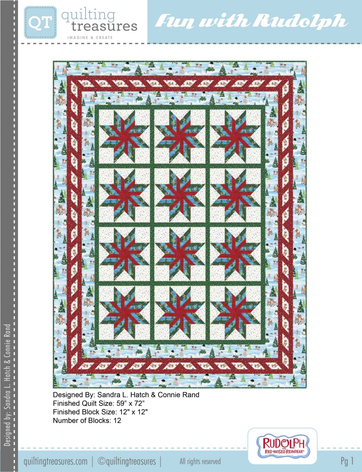 Fun With Rudolph Quilt Kit