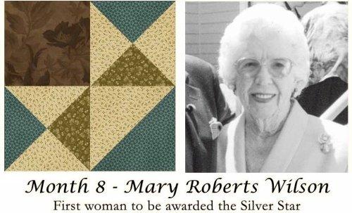 Women of Courage - BOM Kit #8-Mary Wilson