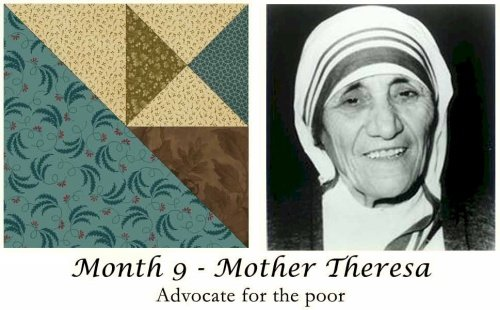 Women of Courage - BOM Kit #9-Mother Teresa