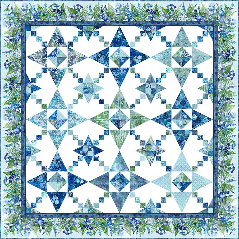 Haven - Calm Quilt Kit, 91.5in x 91.5in