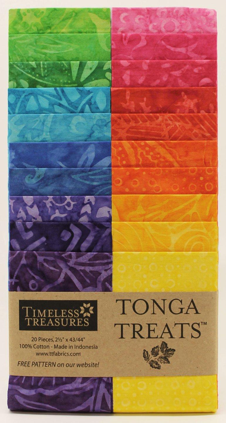 Tonga Treat Strip Jr - Dazzle (2.5 Inch x 44 Inch)