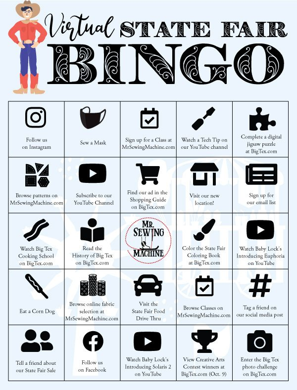 Play Bingo with us and win a prize!