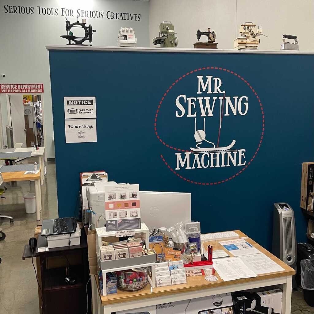 Mr Sewing Machine Store Front