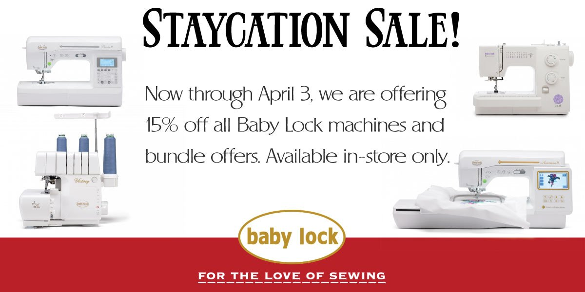 Staycation Sale through April 3, 2020
