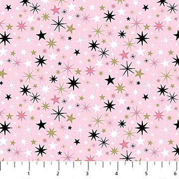 Believe in Magic -- 23232M-21 Small Stars Pink