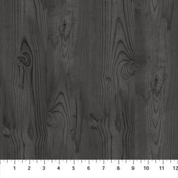 The Scarlet Feather -- 23480-96 Wood Grain/Charcoal