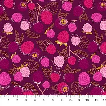 Sangria -- 90207-84 Purple Multi Raspberries