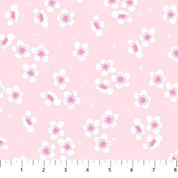 Sangria -- 90208-21 Pink Blossoms