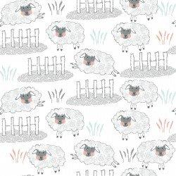Comfy Flannel Prints - 13992 White
