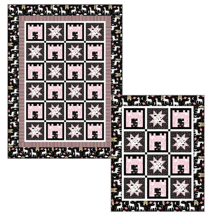 Believe in Magic -- Castles and Stars Pattern PTN2594