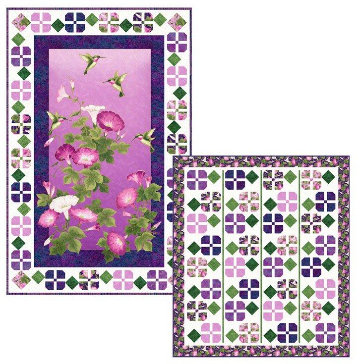 Shimmer Morning Glory -- Morning Vine Pattern PTN2603