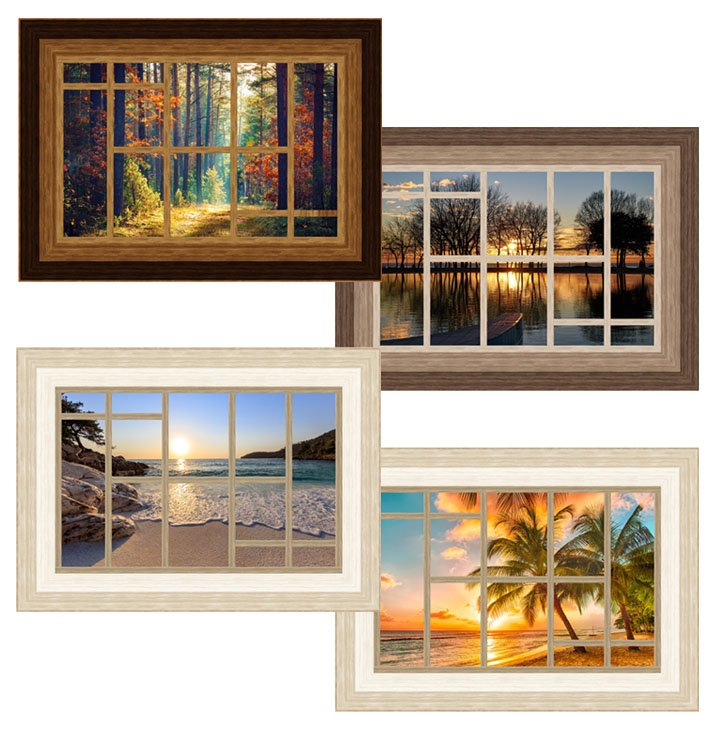 The View From Here -- Panorama Pattern PTN2617