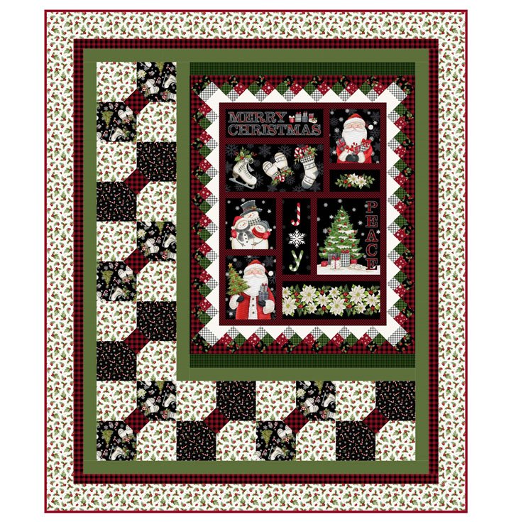 Farmhouse Christmas -- PTN2650 Snuggle Season Pattern