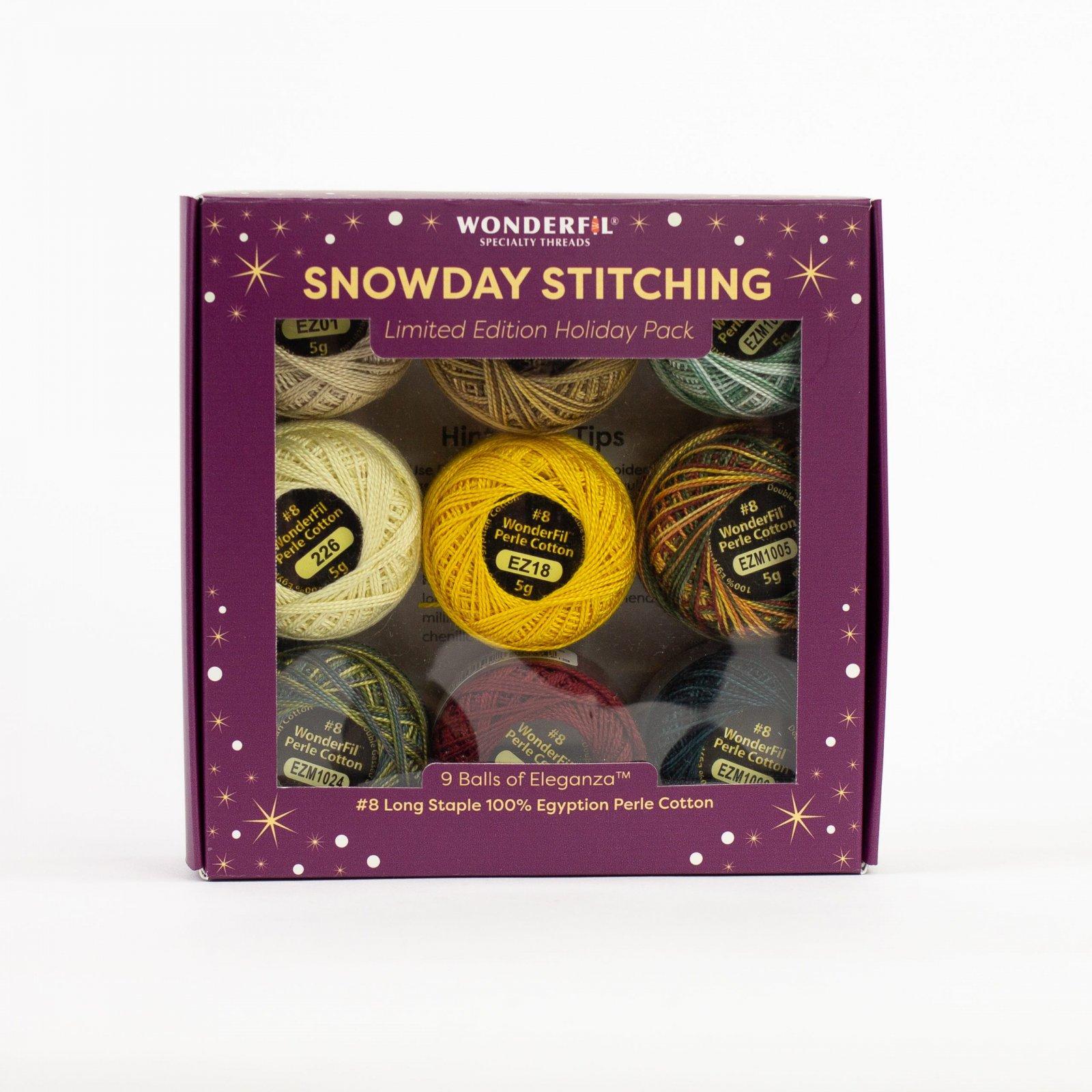 Wonderfil Snowday Stitching -- Woodland Winter/HPSS-WoodlandWinter