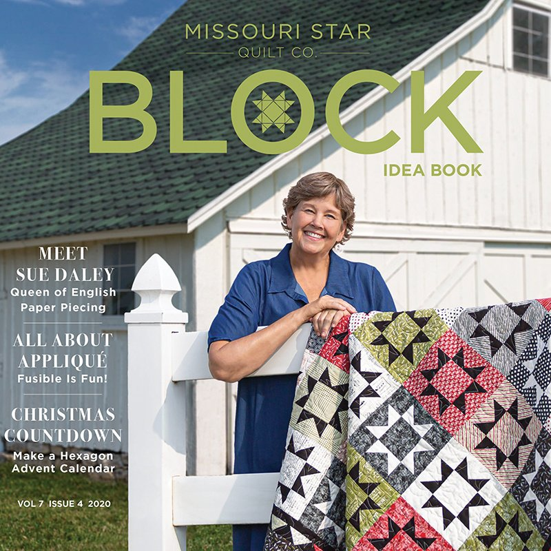 MISSOURI STAR QUILT COMPANY BLOCK BOOK VOL 7 ISSUE 4