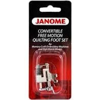 Janome Convertible Free Motion Couching Foot Set