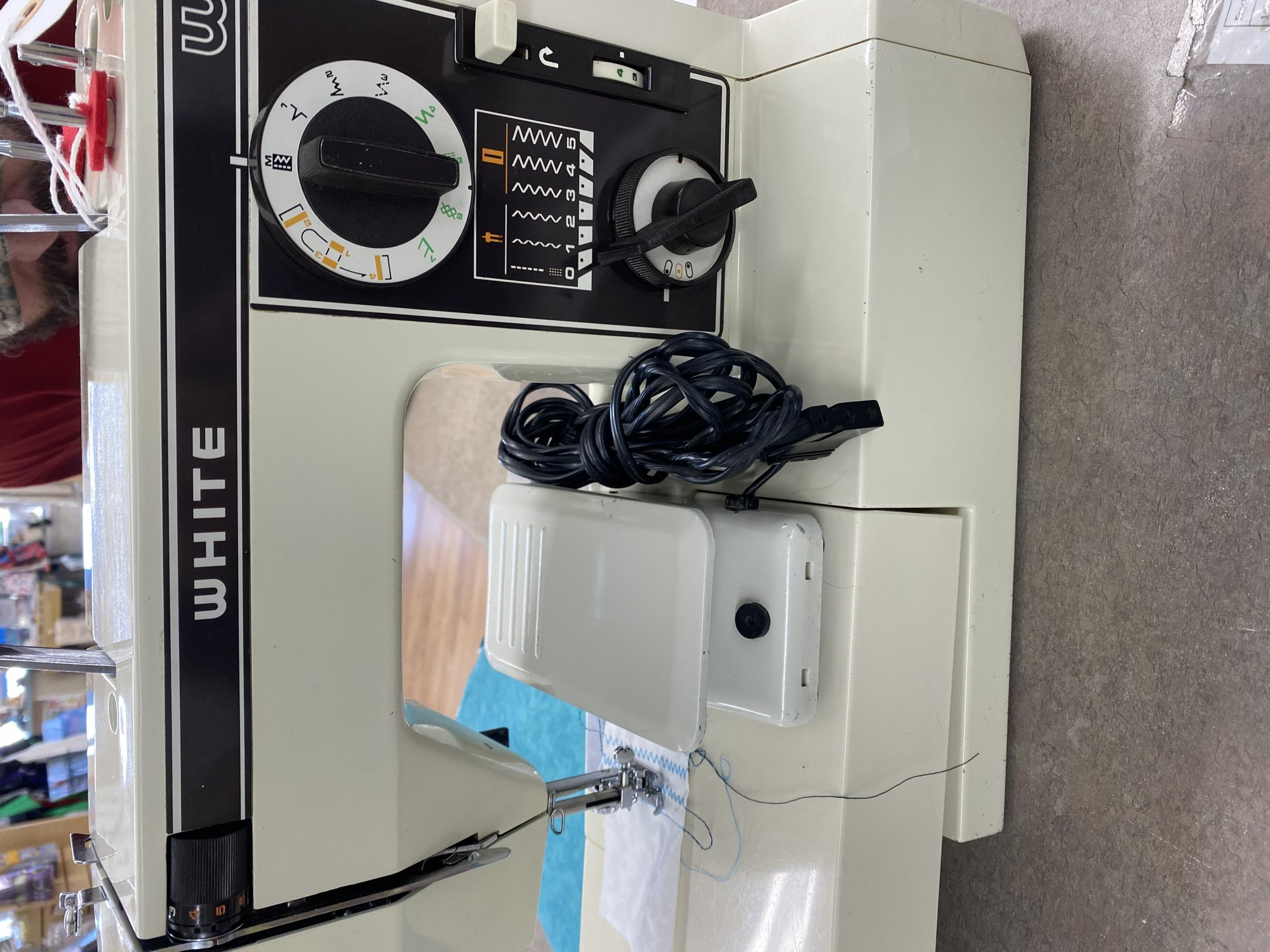 White 1099 Sewing Machine for Sale