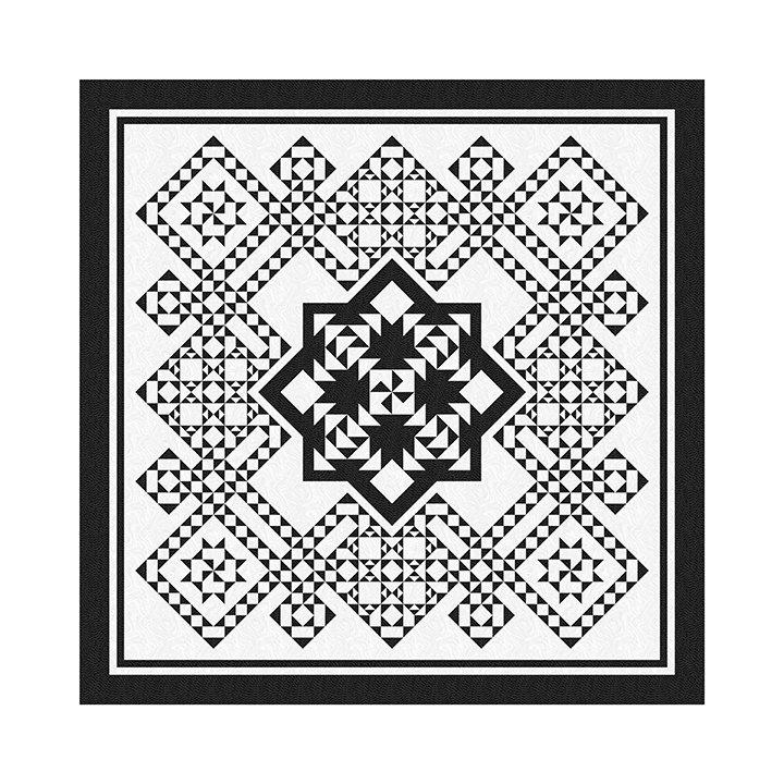 Pinwheel Puzzle Pattern