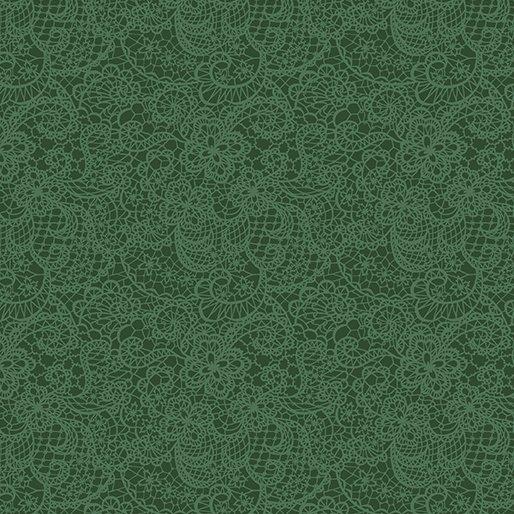 Festive Lace Green