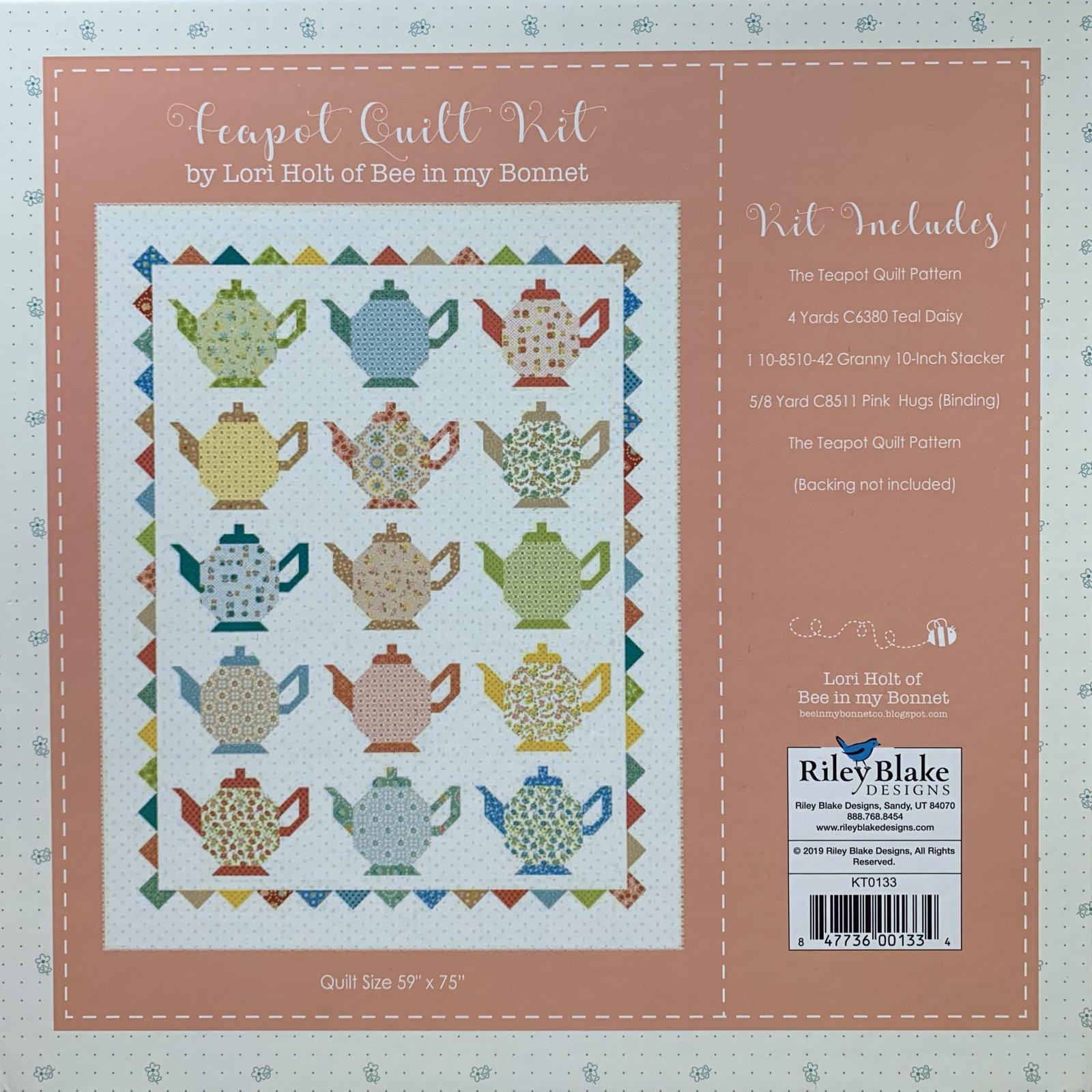 Teapot Quilt Kit