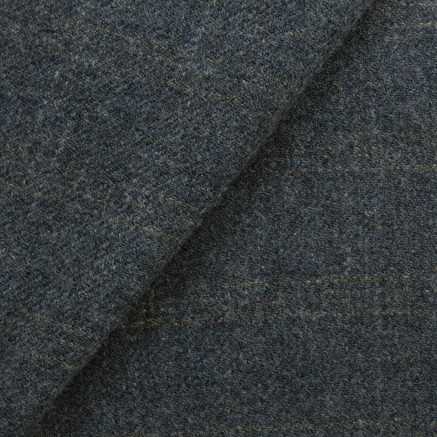 GREY HEATHER WITH SUBDUED NATURAL WINDOWPANE