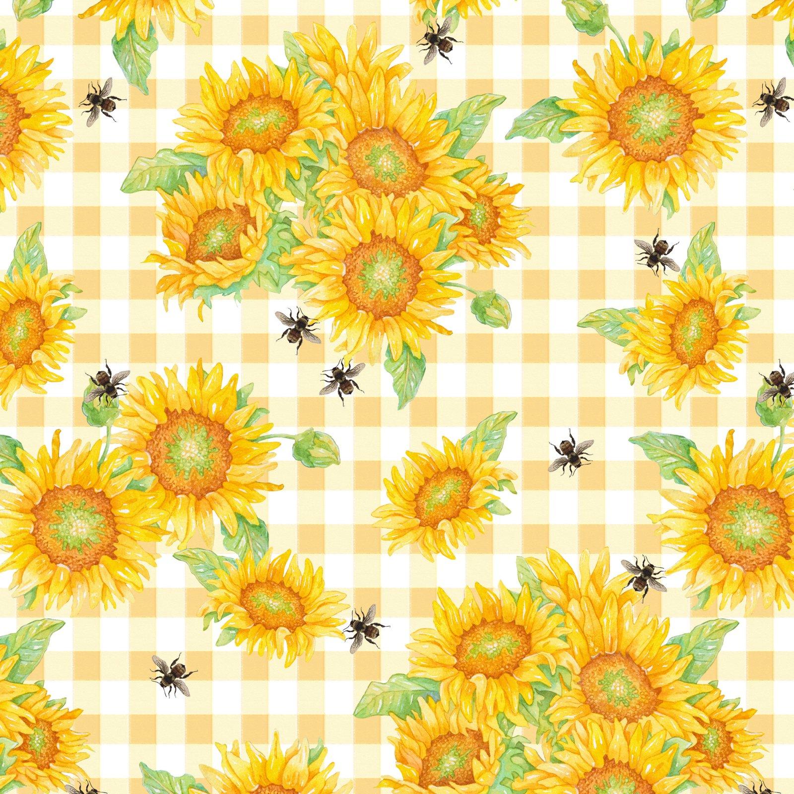 Bee Sweet Sunflowers