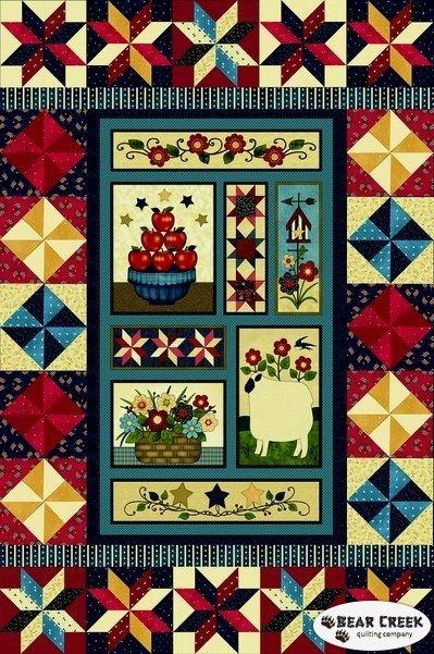 Americana Folk Quilt Kit