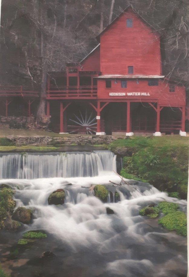 Hodgson Water Mill Panel