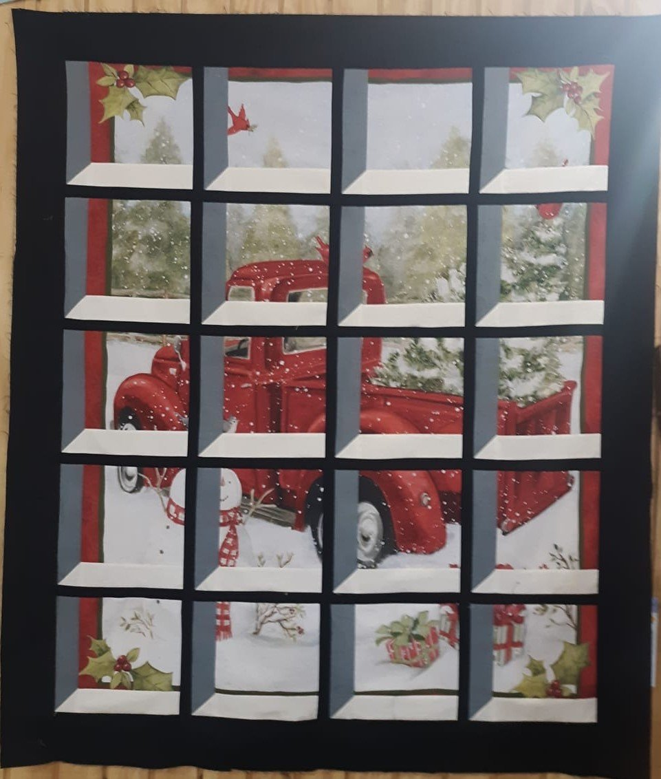 Frosty's Window Pane Quilt Kit