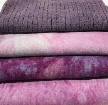 Purples Wool Bundle-4 x 10