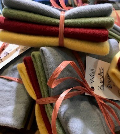 Summertime Wool Bundle 10 x 10