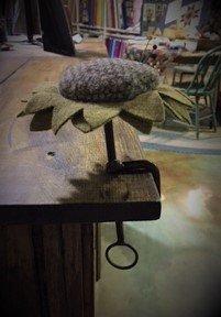 Sunflower Make-Do Pin Cushion Kit