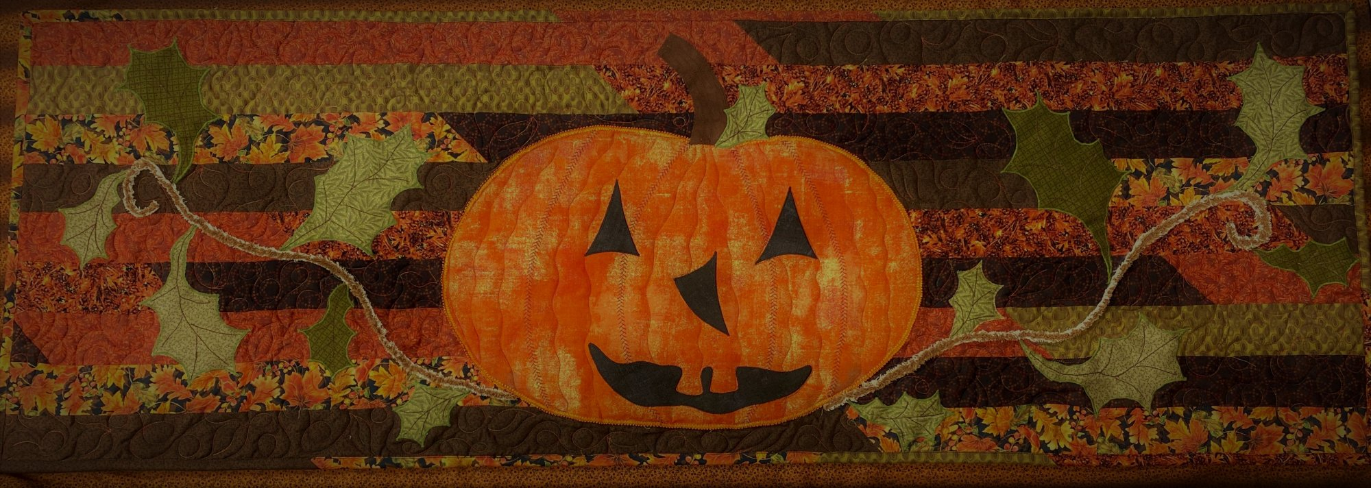 The Pumpkin Patch Table Runner Kit