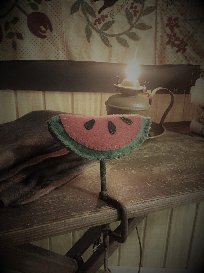 Watermelon Make-Do Pin Cushion Kit