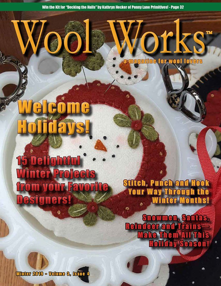 Wool Works Magazine-Winter 2019