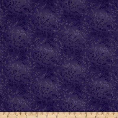 108 Purple Tonal Vineyard Quilt Backing