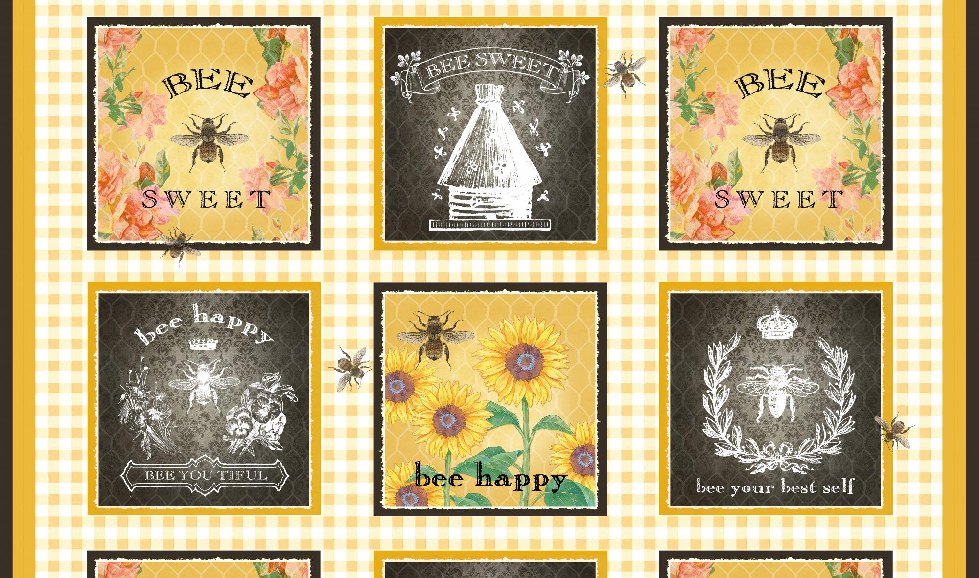 Studio E Bee Sweet Patch Panel 24