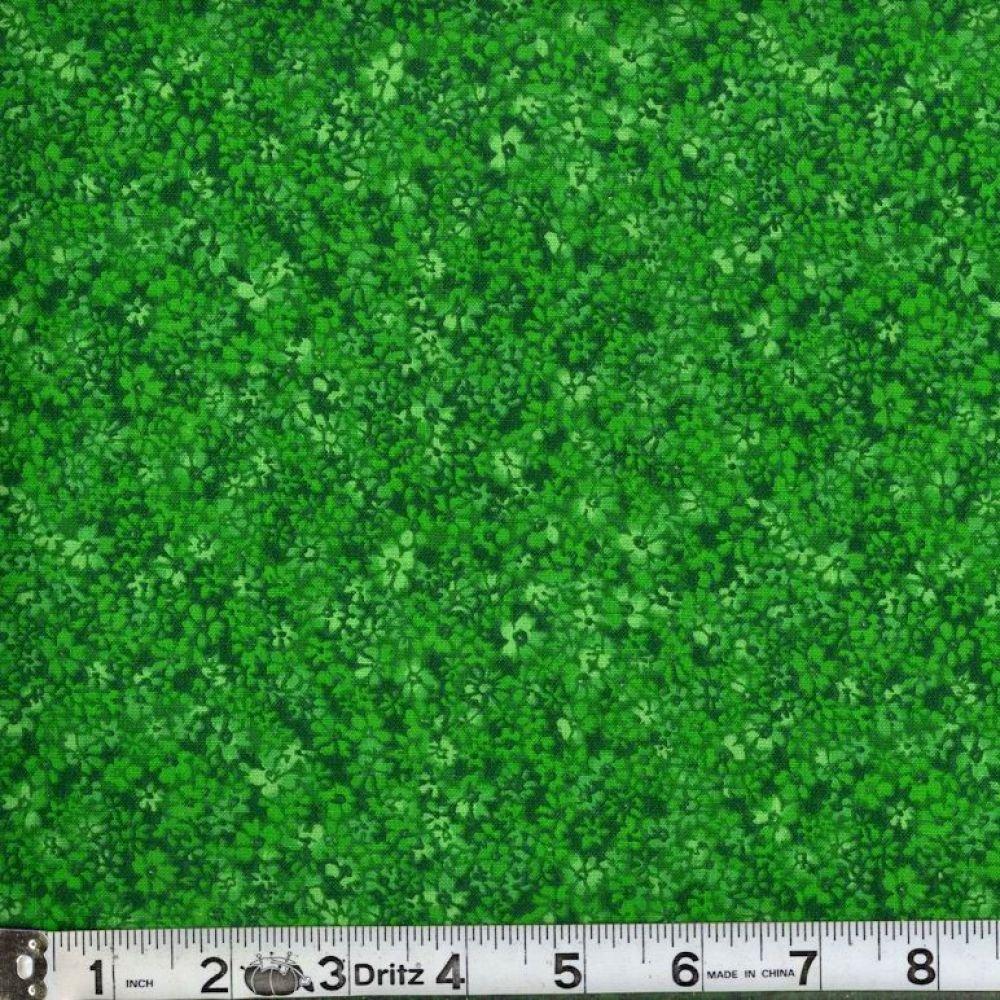Confetti Floral - Kelly Green
